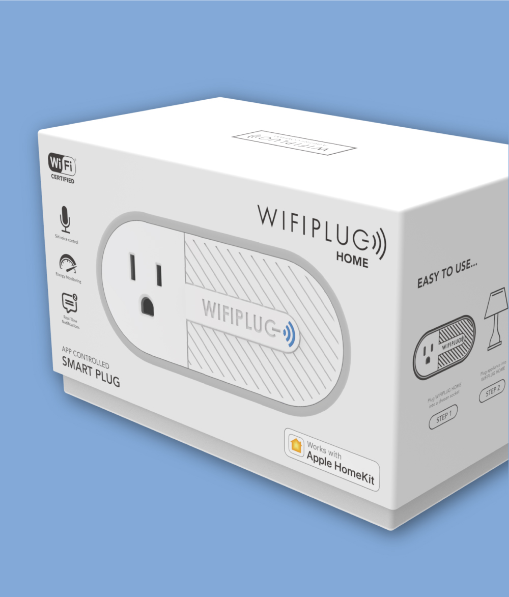 WifiPlug Smart Plug Packaging